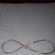 Antigüedades: ANTIGUO CINTURON DE PLATA HINDU SIGLO XIX. Lote 171301634