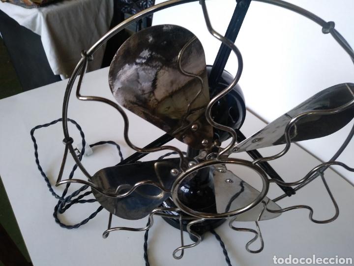 Antigüedades: MARELLI. VENTILADOR. AÑOS 20. ELECTRICO. 125V. - Foto 3 - 171305783