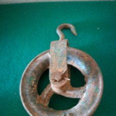 Antigüedades: POLEA PARA POZO. Lote 171306465