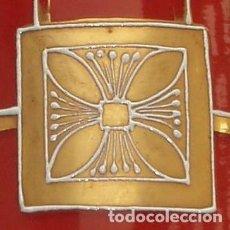 Antigüedades: JARRÓN DE CRISTAL. MODERNISTA. PRINCIPIOS DEL SIGLO XX.. Lote 171334070