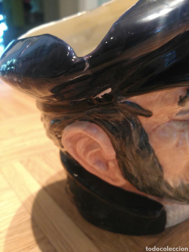 Antigüedades: Figura Royal doulton Capt Ahab - Foto 3 - 171338028