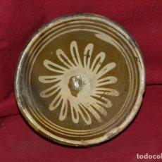 Antigüedades: (M) CERAMICA POPULAR CATALANA DE VOLTA S.XVIII ESCUDILLA 14,5 X 5,5 CM.. Lote 171341570