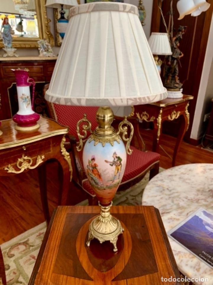 Antigüedades: Maravillosa pareja de Lámparas francesas - Foto 6 - 171346419