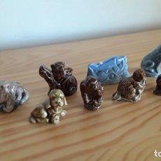 Antigüedades: PORCELANA INGLESA WADE. WHIMSIES. Lote 171357600
