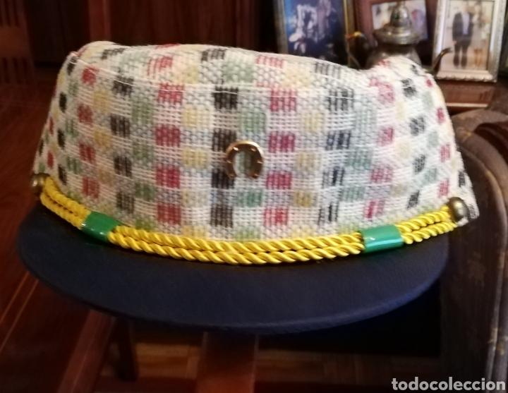 ANTIGUA GORRA MARINERO NIÑO (Antigüedades - Moda y Complementos - Infantil)