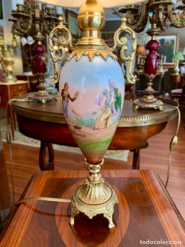 Antigüedades: Maravillosa pareja de Lámparas francesas - Foto 10 - 171346419