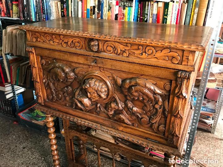 Antigüedades: Bargueño siglo XIX estilo renacimiento o renacentista - Foto 2 - 171449475