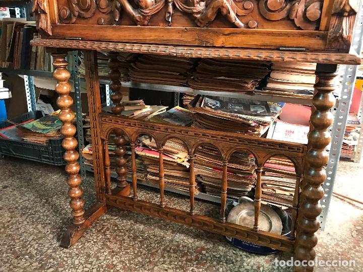 Antigüedades: Bargueño siglo XIX estilo renacimiento o renacentista - Foto 4 - 171449475