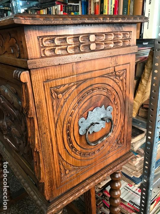 Antigüedades: Bargueño siglo XIX estilo renacimiento o renacentista - Foto 7 - 171449475