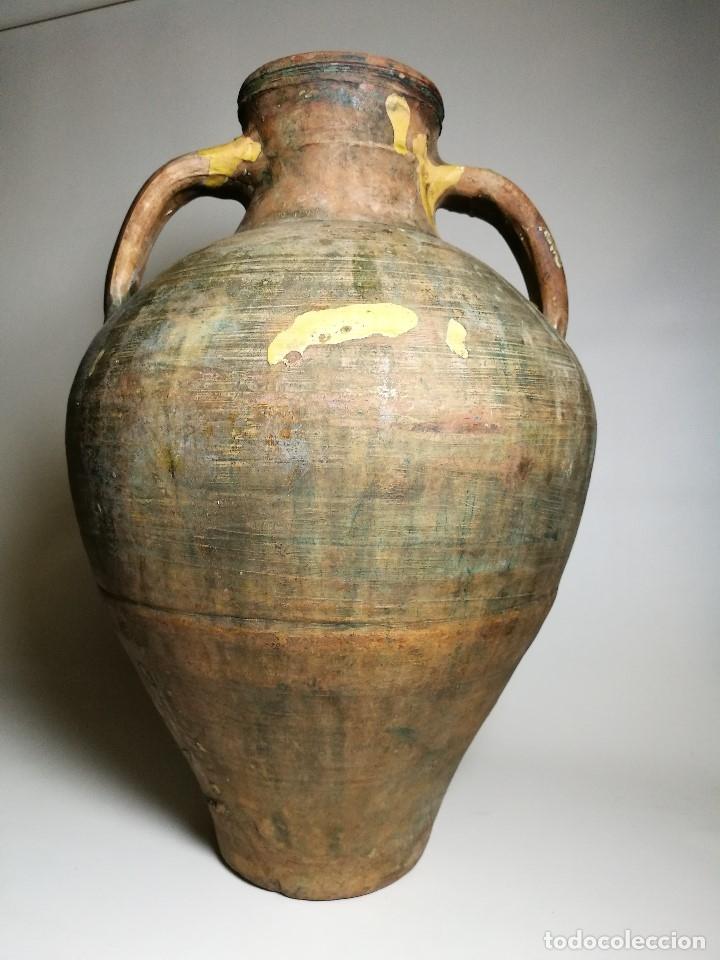 Antigüedades: ANTIGUO CANTARO HALLADO ZONA TUROLENSE..SIGLO XX - Foto 3 - 171449598