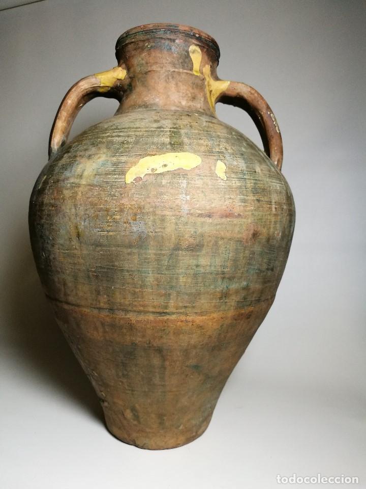 Antigüedades: ANTIGUO CANTARO HALLADO ZONA TUROLENSE..SIGLO XX - Foto 2 - 171449598