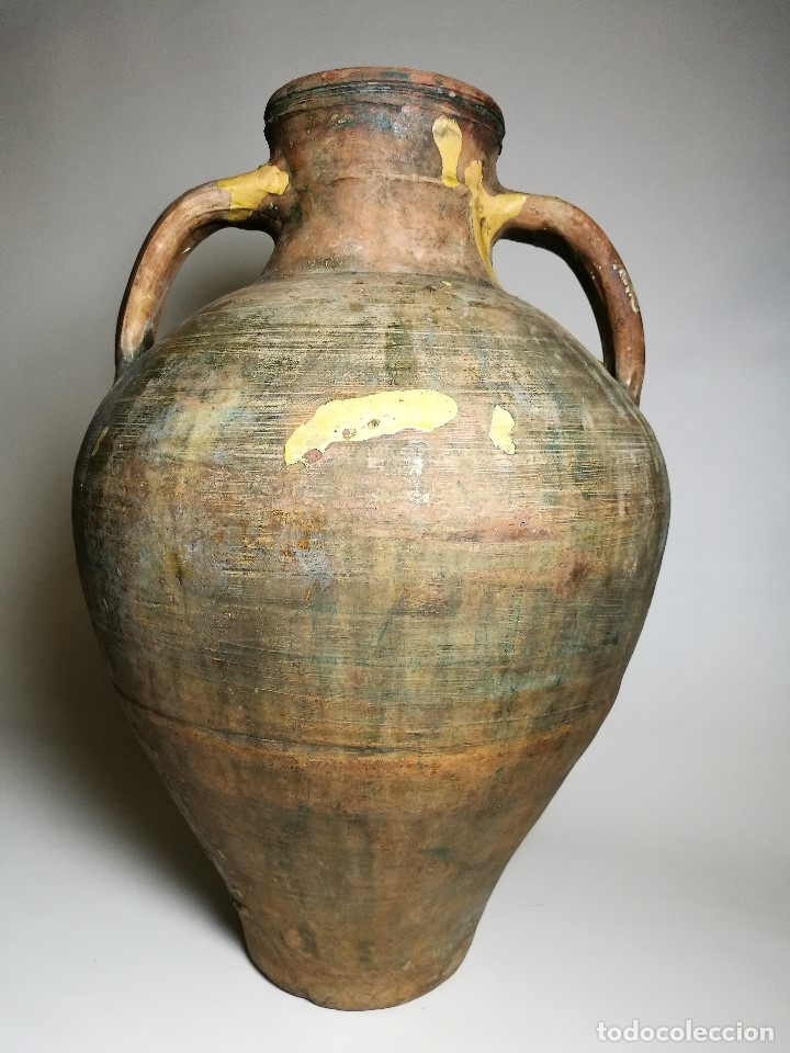 Antigüedades: ANTIGUO CANTARO HALLADO ZONA TUROLENSE..SIGLO XX - Foto 5 - 171449598