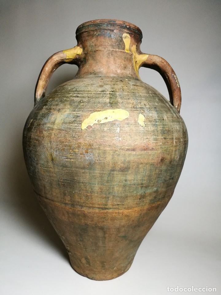 Antigüedades: ANTIGUO CANTARO HALLADO ZONA TUROLENSE..SIGLO XX - Foto 4 - 171449598