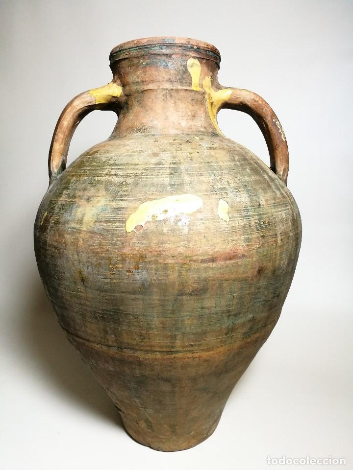 Antigüedades: ANTIGUO CANTARO HALLADO ZONA TUROLENSE..SIGLO XX - Foto 10 - 171449598