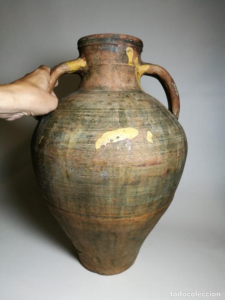Antigüedades: ANTIGUO CANTARO HALLADO ZONA TUROLENSE..SIGLO XX - Foto 9 - 171449598
