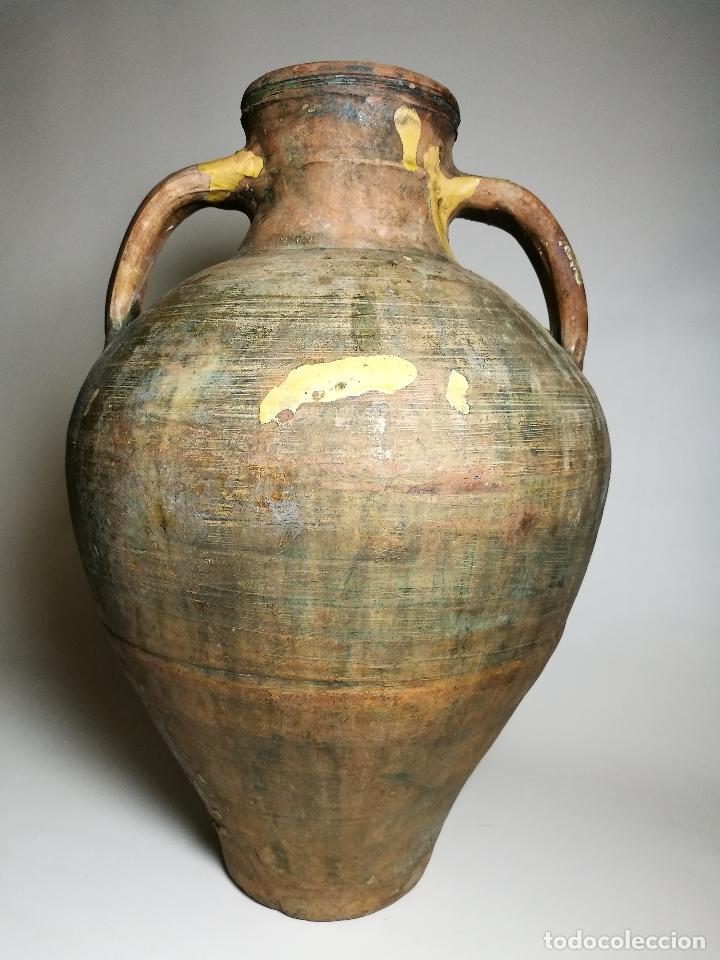 ANTIGUO CANTARO HALLADO ZONA TUROLENSE..SIGLO XX (Antigüedades - Porcelanas y Cerámicas - Teruel)