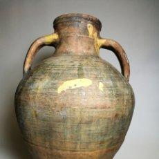 Antigüedades: ANTIGUO CANTARO HALLADO ZONA TUROLENSE..SIGLO XX. Lote 171449598