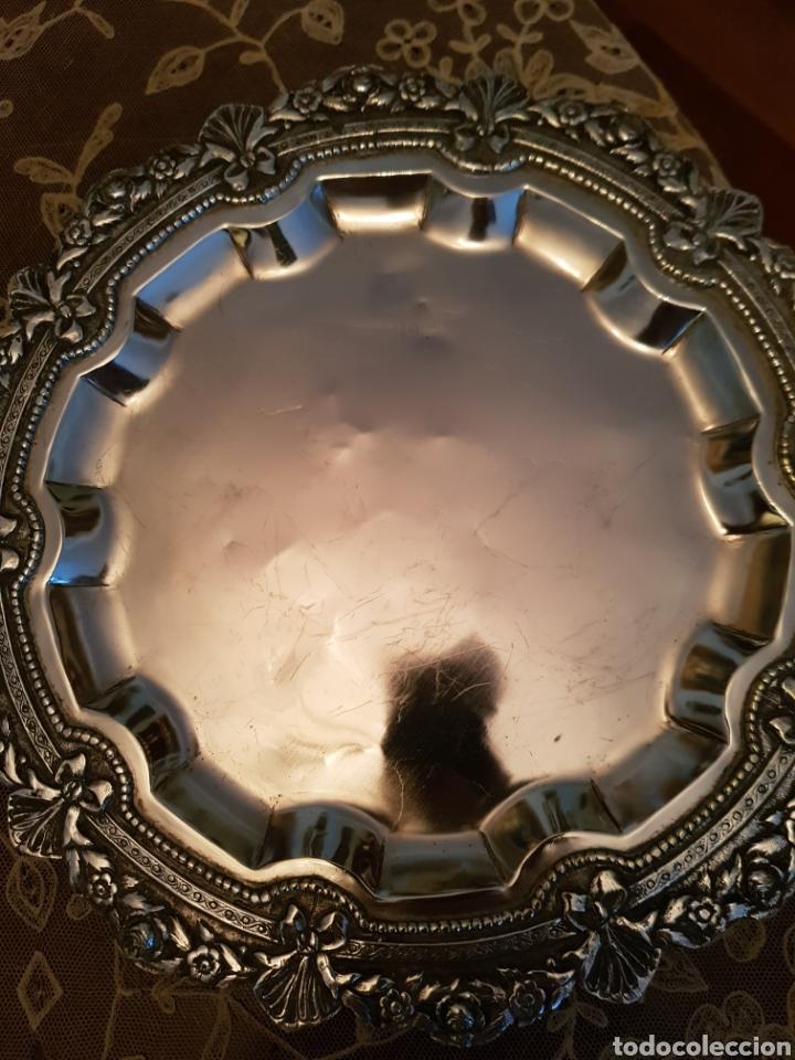 Antigüedades: Pareja de salvillas - Foto 3 - 178154924