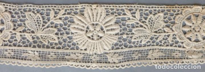Antigüedades: ANTIGUA CAPELINA DE ENCAJE S.XIX - Foto 2 - 171453770