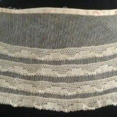 Antigüedades: ANTIGUA CAPELINA DE ENCAJE PPIO.S.XX. Lote 171472340