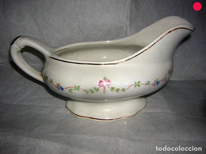SALSERA DE LA ASTURIANA, M. POLA (Antigüedades - Porcelanas y Cerámicas - San Claudio)