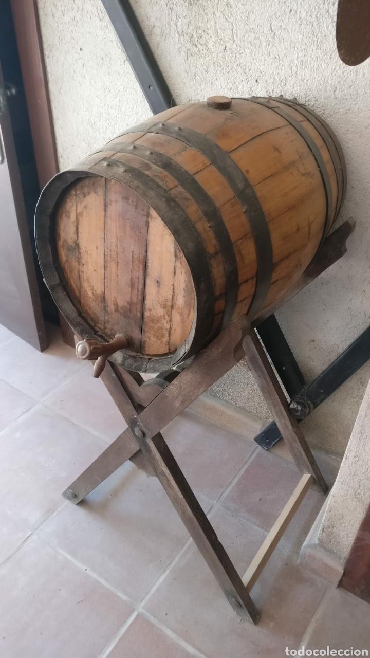 BOTA DE VINO - BARRICA (Antigüedades - Técnicas - Rústicas - Utensilios del Hogar)