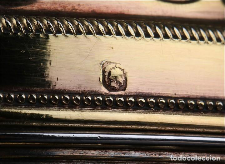 Antigüedades: Antiguo Copón en Plata Dorada. Francia, Circa 1860 - Foto 32 - 171507828