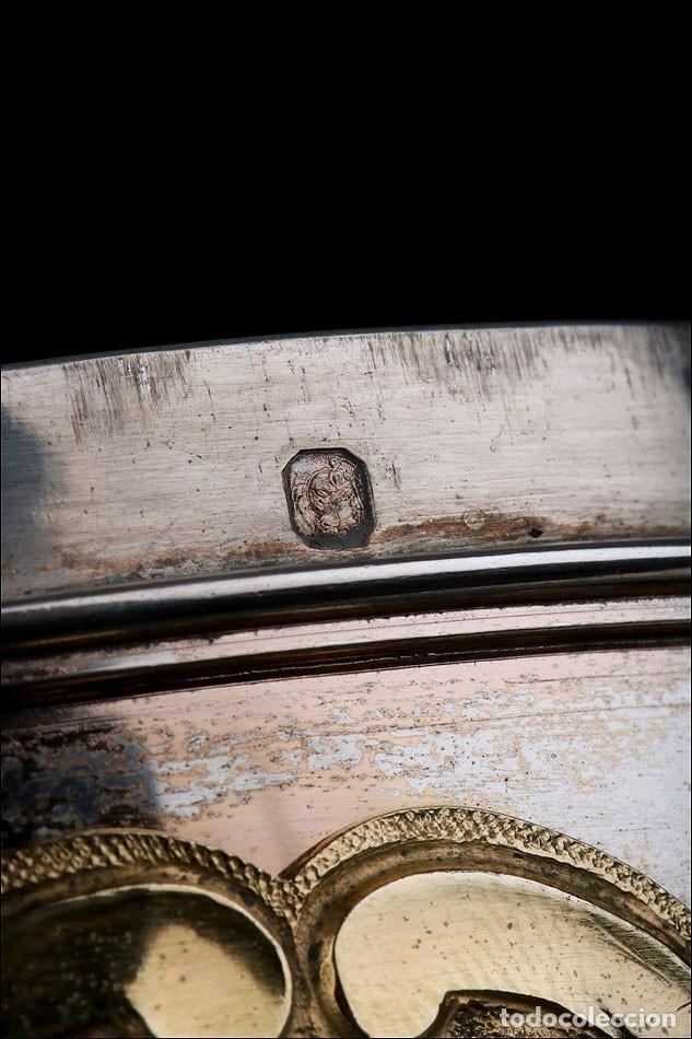 Antigüedades: Antiguo Copón en Plata Dorada. Francia, Circa 1860 - Foto 34 - 171507828