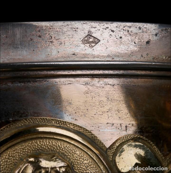 Antigüedades: Antiguo Copón en Plata Dorada. Francia, Circa 1860 - Foto 35 - 171507828