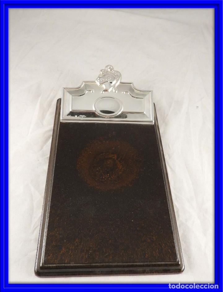 PINZA DE ESCRITORIO DE PLATA DE PEDRO DURAN (Antigüedades - Platería - Plata de Ley Antigua)