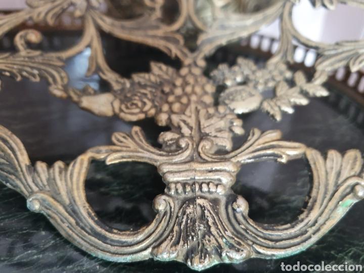 Antigüedades: PRECIOSO Y ANTIGUO CENTRO DE MESA O FRUTERO - Foto 4 - 171521620