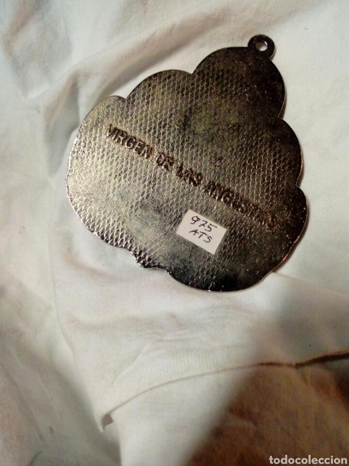 Antigüedades: Medallon grande 8,50x7,50 de la vigen de las angustias - Foto 2 - 171530135