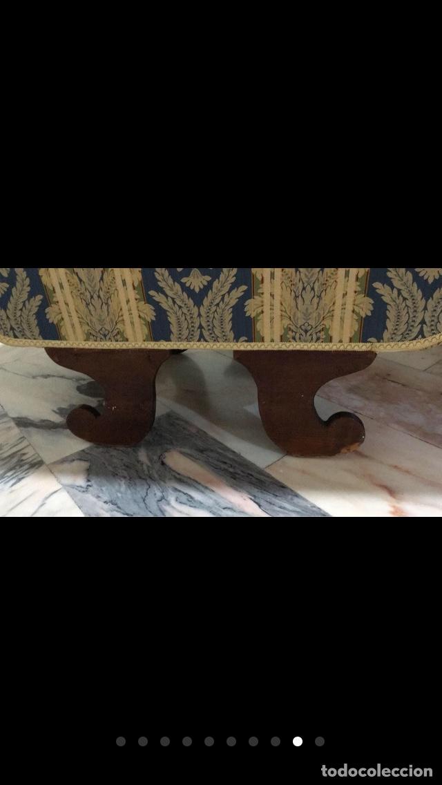 Antigüedades: Sillón tapizado con marquetería - Foto 9 - 171538632