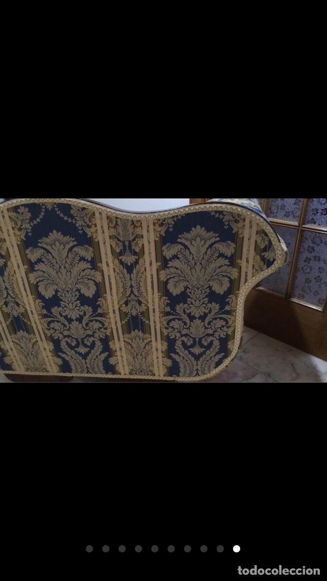 Antigüedades: Sillón tapizado con marquetería - Foto 10 - 171538632