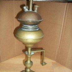 Antigüedades: ANTIGUO QUINQUE DE BRONCE Y COBRE. Lote 171542597