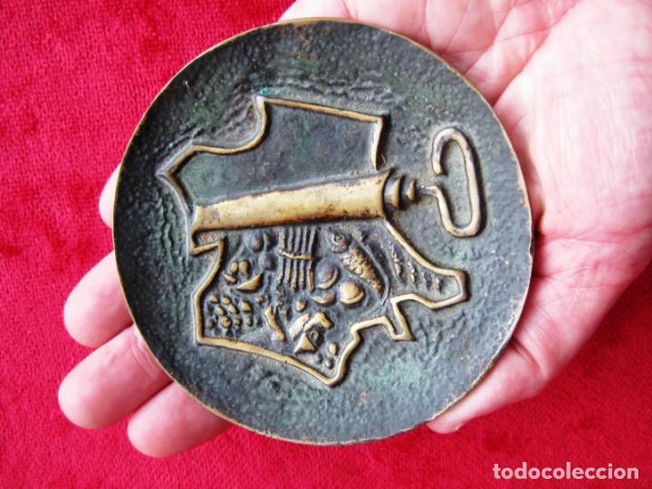 TARJETERO ART DECO EN BRONCE FIRMADO J.P. LE VERRIER, CEGA PARIS (Antigüedades - Hogar y Decoración - Otros)
