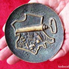 Antigüedades: TARJETERO ART DECO EN BRONCE FIRMADO J.P. LE VERRIER, CEGA PARIS. Lote 171593399