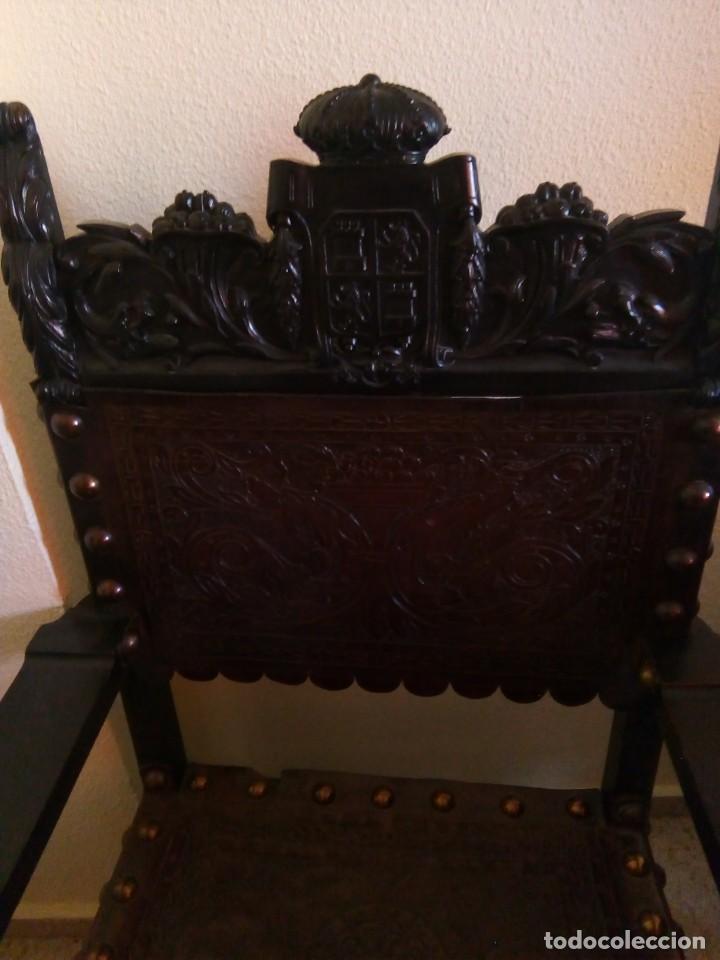 Antigüedades: Pareja sillones renacimiento - Foto 2 - 171597249