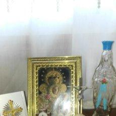 Antigüedades: LOTE DE OBJETOS RELIGIOSOS. Lote 171606907