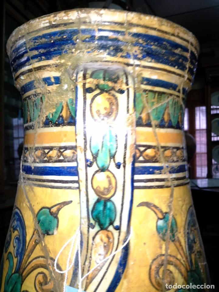 Antigüedades: JARRON CERAMICA - Foto 9 - 171610269