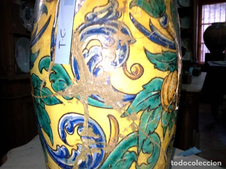 Antigüedades: JARRON CERAMICA - Foto 10 - 171610269