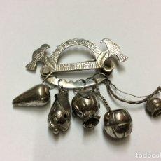 Antigüedades: BALANGALDAN AMULETO BRASILEÑO. PLATA.. Lote 171612242