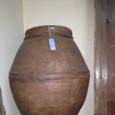 Antigüedades: TINAJA DE CERAMICA. Lote 171614293