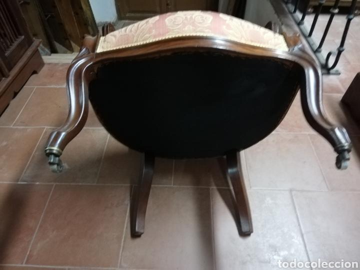 Antigüedades: Sillón antiguo caoba - Foto 4 - 171615979