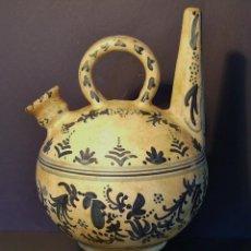 Antigüedades: BOTIJO DE ADORNO DE TERRISSA CATALANA XX . Lote 171625563