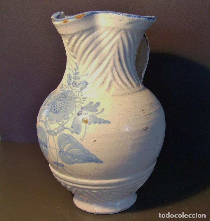 JARRA CERÁMICA DE TALAVERA (Antigüedades - Porcelanas y Cerámicas - Talavera)