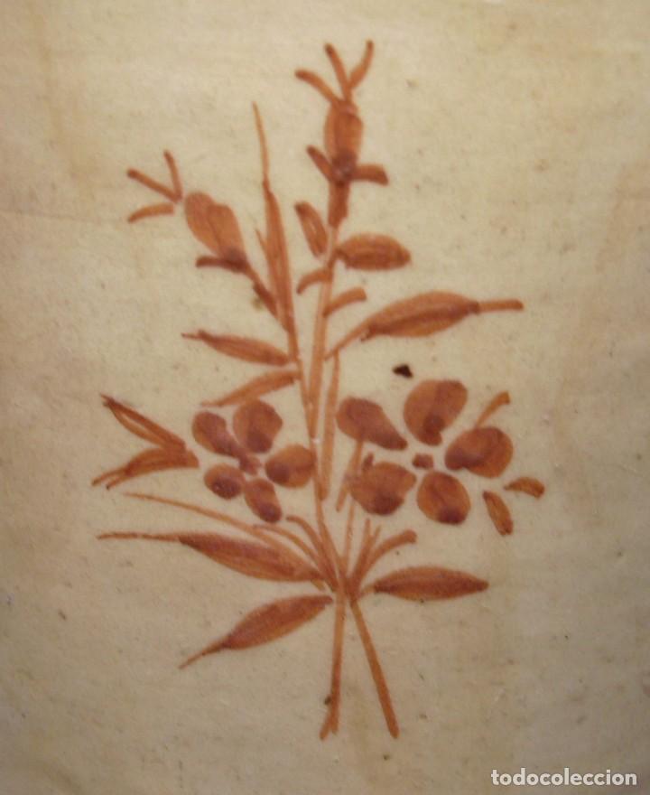 Antigüedades: GRAN BOTIJO CERÁMICA DE MANISES XIX - XX - Foto 16 - 171626290