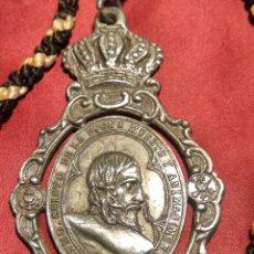 Antigüedades: MEDALLA COFRADIA CRISTO DE MENA. Lote 171627194