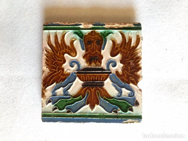 AZULEJO, MANUEL RAMOS REJANO (Antigüedades - Porcelanas y Cerámicas - Azulejos)