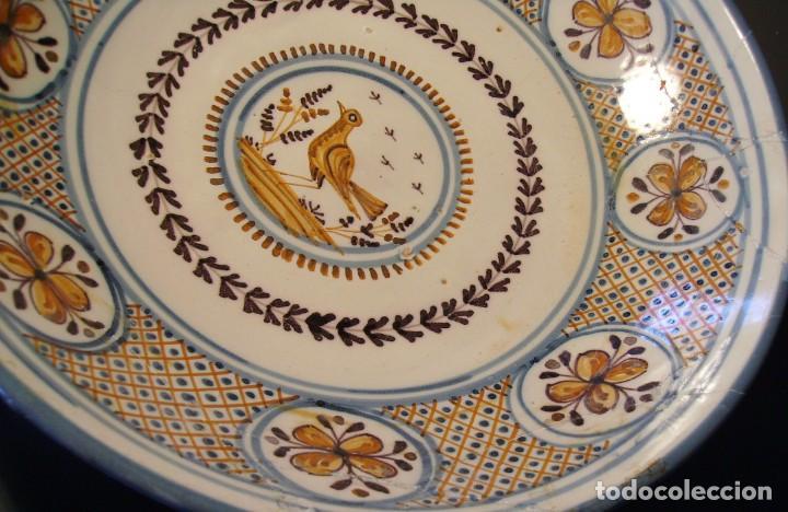 Antigüedades: GRAN PLATO CERÁMICA DE TALAVERA XIX - Foto 5 - 171627850